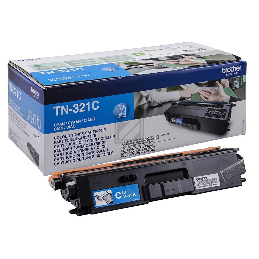 TN321C Original Toner Cyan für Brother / TN321C / 1.500 Seiten