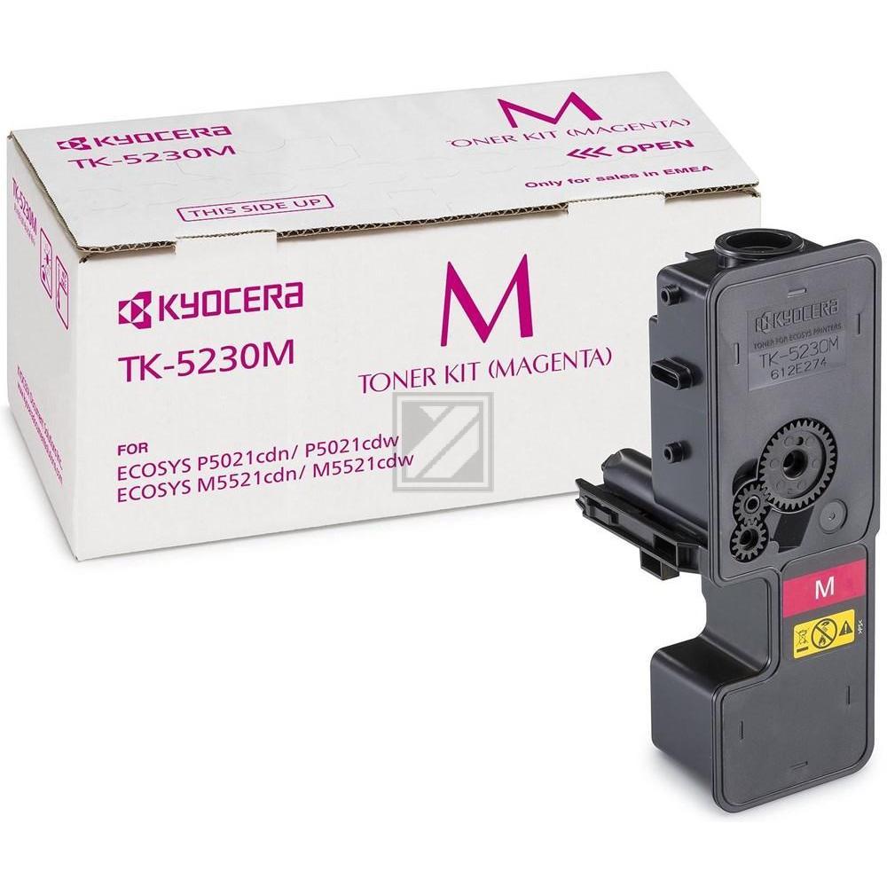 TK5230M /1T02R9BNL0  Original Toner Magenta für K / 1T02R9BNL0/TK5230M / 2.200 Seiten