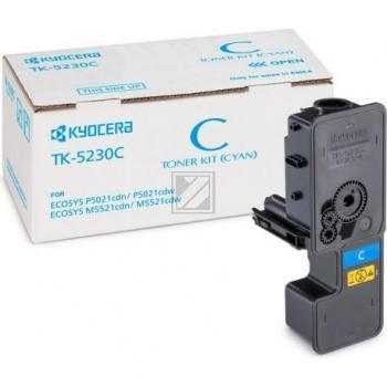 TK5230C /1T02R9CNL0  Original Toner Cyan für Kyoc / 1T02R9CNL0/TK5230C / 2.200 Seiten
