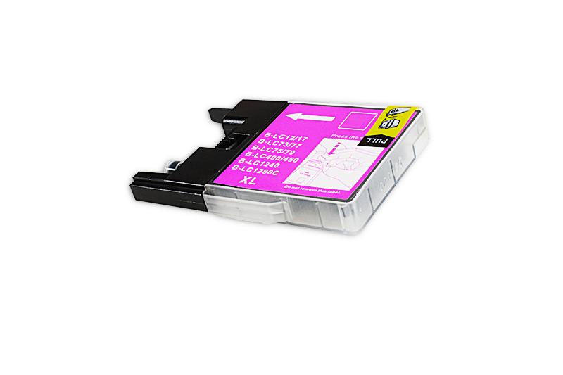 BULK LC1280XLM Alternativ Tinte Magenta für Brothe / LC1280XLM / 20ml