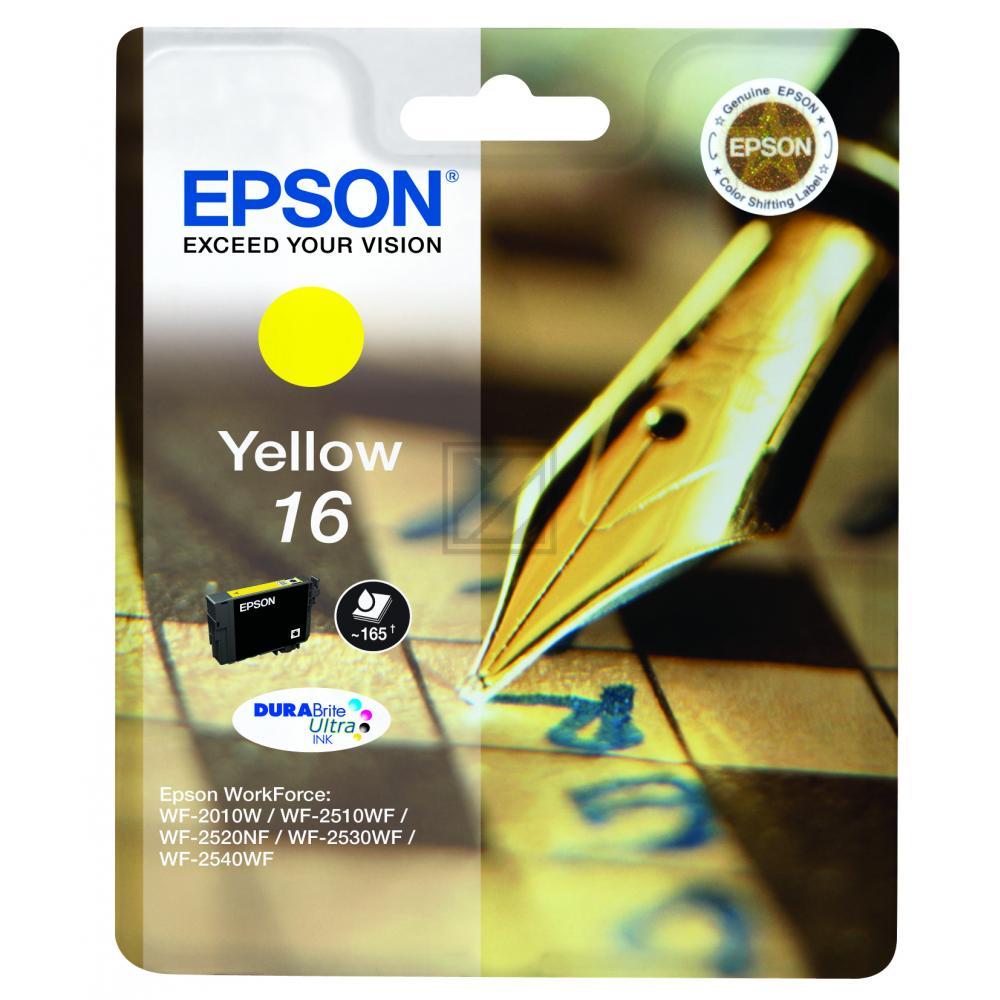 C13T16244012 / Nr.16Y Original Tinte Yellow für Ep / C13T16244012 / 3,1ml