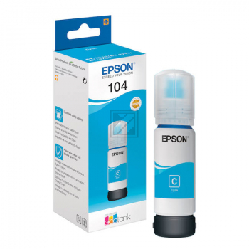 C13T00P240 // EPSON Ecotank Tinte 104/T00P24 / C13T00P240