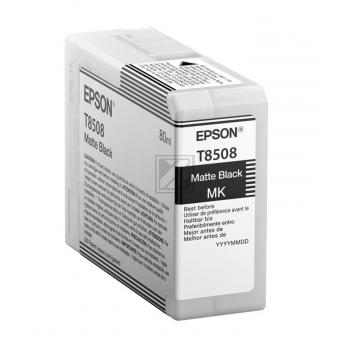 T8508 (C 13 T 850800) / original / Tinte black / C13T850800