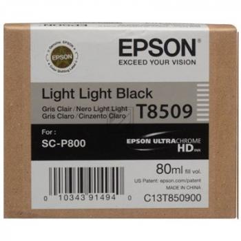 T8509 (C 13 T 850900) / original / Tinte black / C13T850900