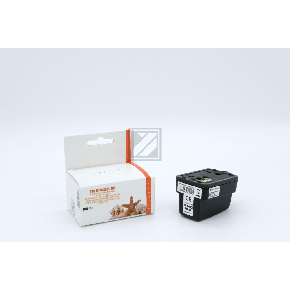 Refill Tinte Black für HP / C8719EE / 38ml