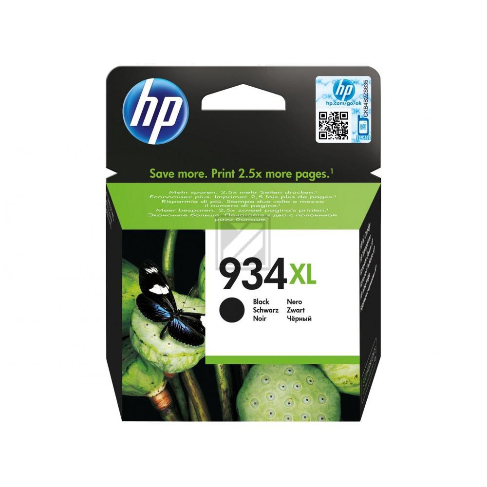C2P23AE / Nr.934XLBK Original Tinte Black für HP / C2P23AE / 1000 Seiten