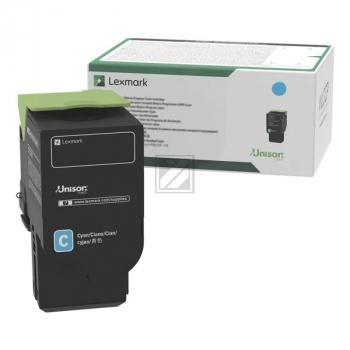 LEXMARK Toner 78C20C0 cyan / 78C20C0