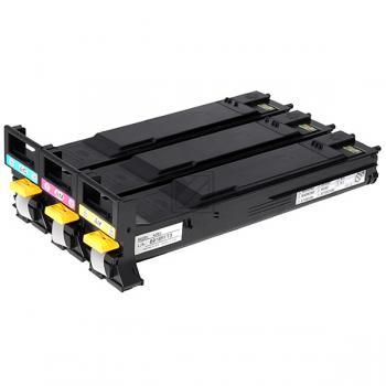 A06VJ52 QMS Toner für MC5550, cmy  / A06VJ52 / 3x 6.000 Seiten