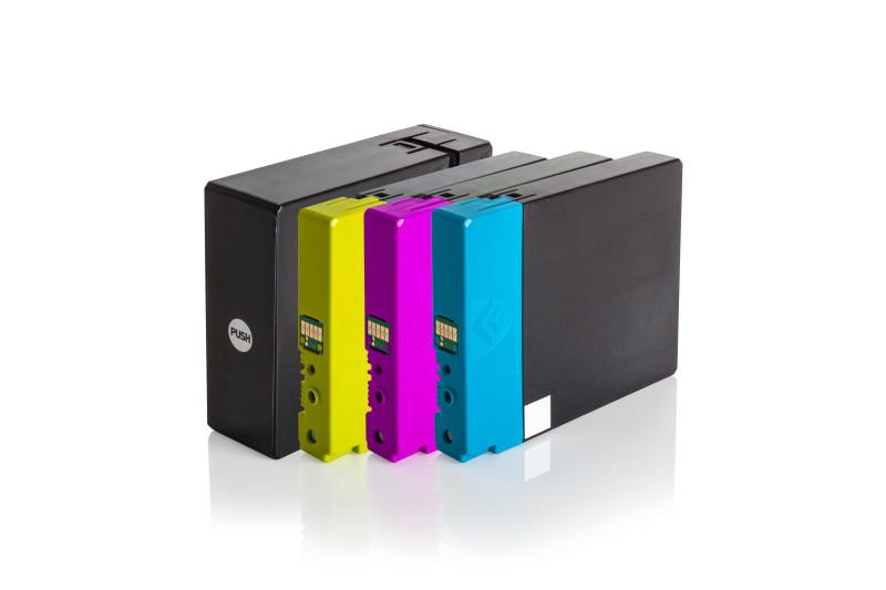 Multipack PGI2500XL Alternativ Tinte für Canon / 9254B004 / BK74,6ml / C,M,Y20,4ml (PATENT SAFE