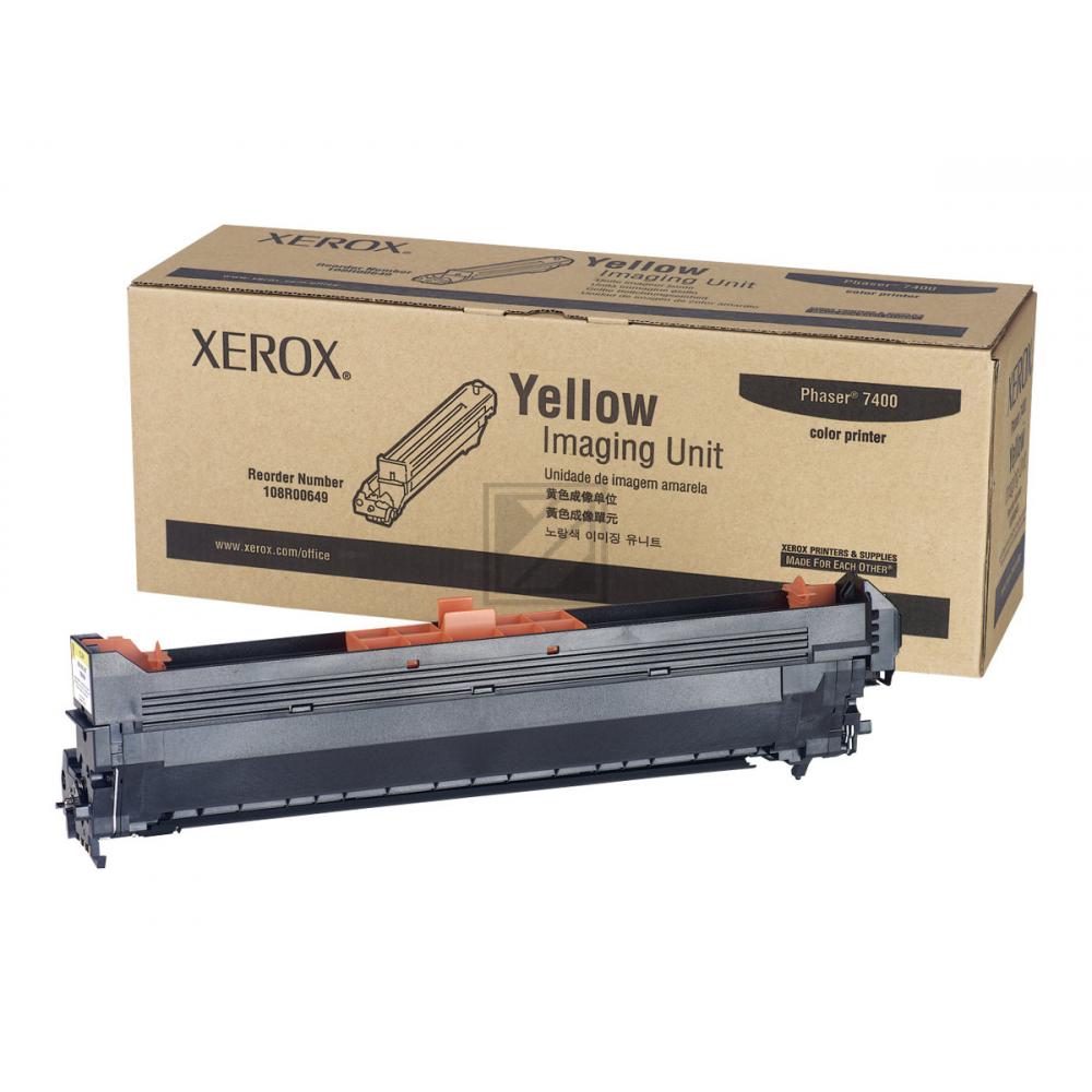 108R649 // Yellow // original // Trommel f. Tektro / 108R00649 / 30.000 Seiten