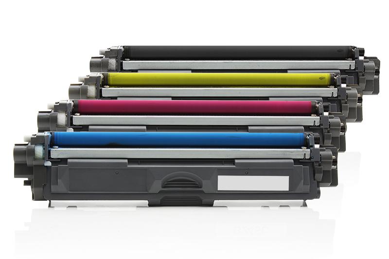 TONTN246/245KIT5 Universal Alternativ Rainbowkit für Brother / TN246KIT / BK(2x2.500) / (CMY)je x 2.200 Seiten