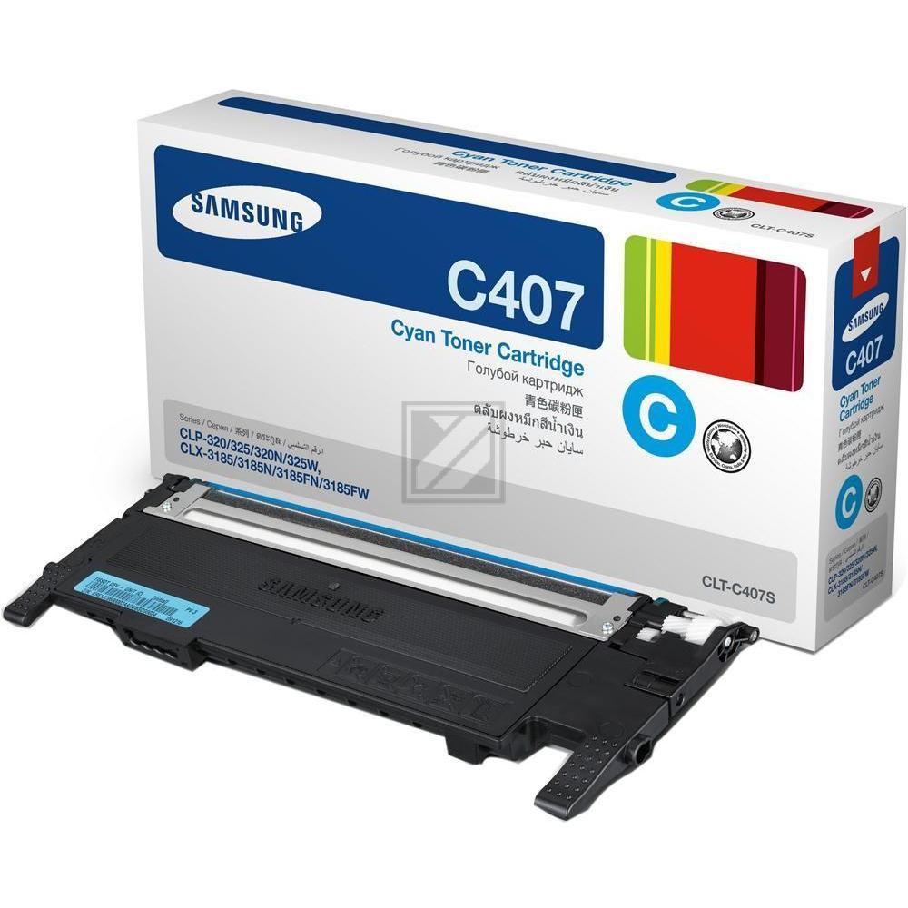 CLP325C/CLTC4072S/ELS Original Toner Cyan / CLTC4072SELS/ST994A / 1.000 Seiten