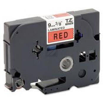 TZE421 //BK on Red // original // Schriftband 9m / TZE421