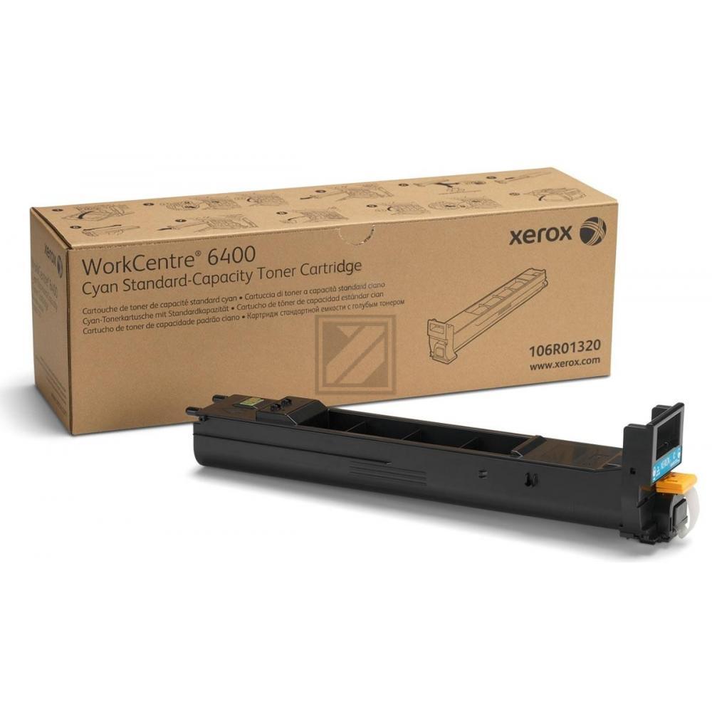 106R01320 // Cyan // original // Toner f. Xerox Wo / 106R01320 / 8.000 Seiten