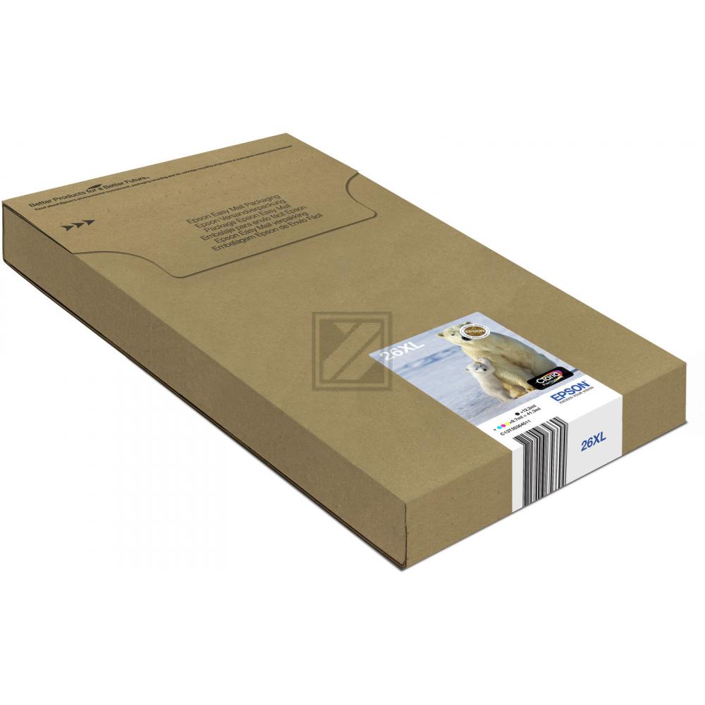 EPSON Multipack 4colours 26XL Claria Premium Easy / C13T26364511