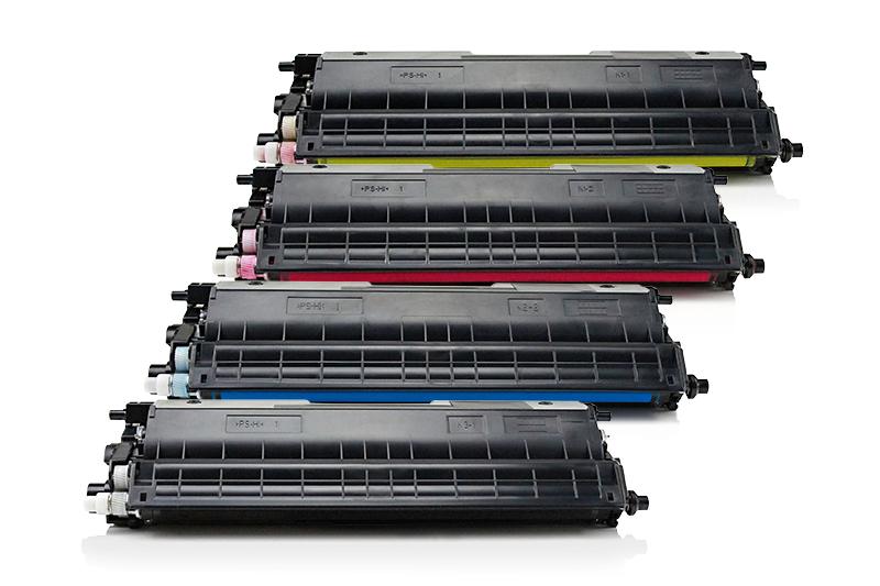 TONTN326KIT Alternativ Toner Rainbowkit für Brothe / TN326 BKCMY / 4.000 / 3.500 Seiten
