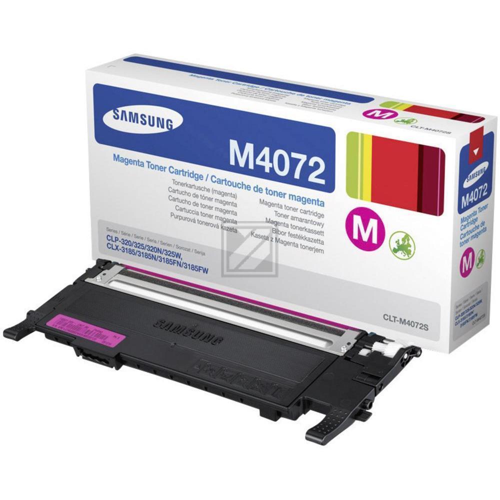 CLP325M/CLTM4072S/ELS Original Toner Magenta / CLTM4072SELS/SU262A / 1.000 Seiten