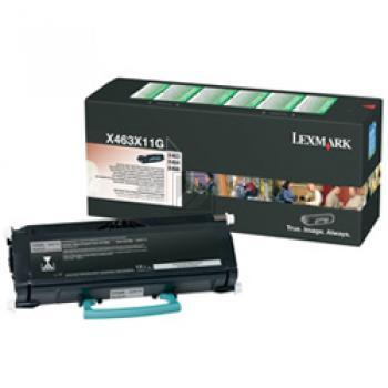 X463X11G // Black // original // Toner f. Lexmark / X463X11G / 15.000 Seiten