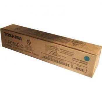 TFC35C // Cyan // original // Toner f. Toshiba ES / 6AJ00000050 // 4602502 / 5.000 Seiten