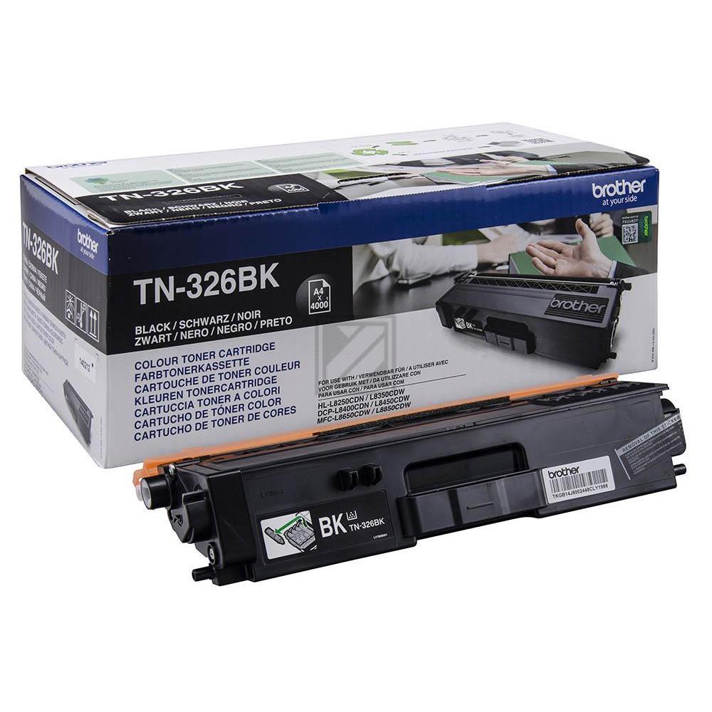 TN326BK Original Toner Black für Brother / TN326BK / 4.000 Seiten