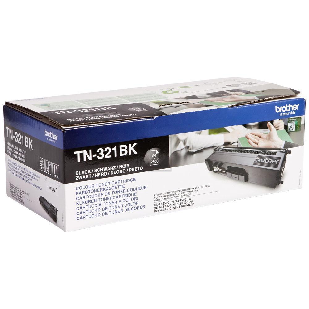 TN321BK Original Toner Black für Brother / TN321BK / 2.500 Seiten