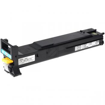 A06V452 QMS Toner für MC5550, cyan / A06V452 / 6.000 Seiten