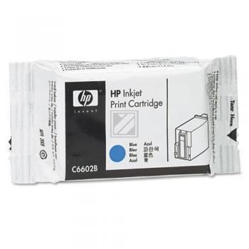 HP TIJ 1.0 Original Tinte blau Standardkapazität 1 / C6602B