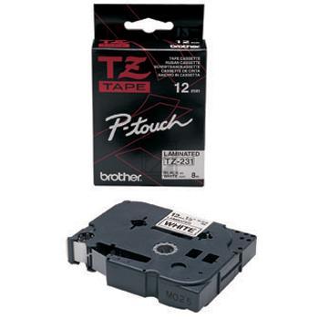 TZE231 //Bk on White// original // Beschriftung / TZE231