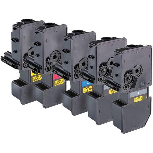 TONTK5230KIT5 Alternativ Toner Rainbowkit für Kyocera / TK5230BK/C/M/Y / 2x BK2.600 / CMY2.200 Seiten