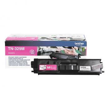 TN329M // Magenta // original // Toner f. Brother / TN329M // TN329M / 6.000 Seiten