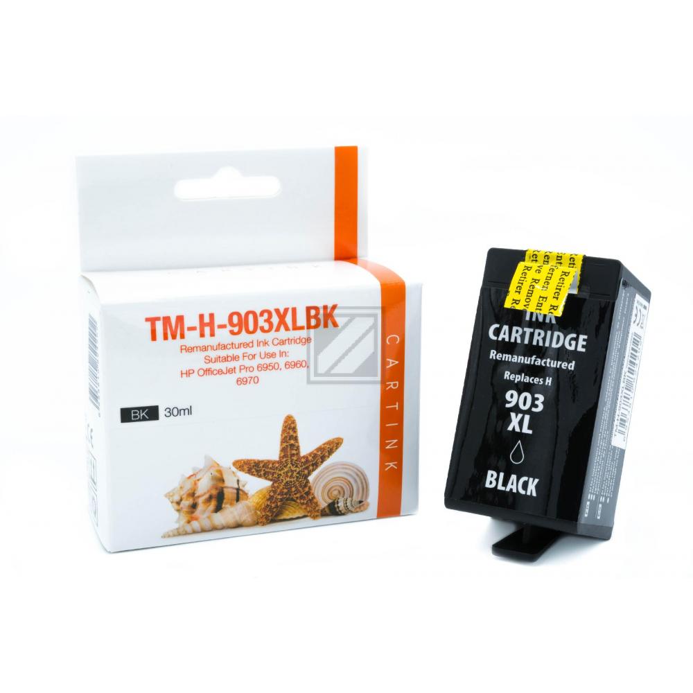 Refill Tinte Black für HP / T6M15AE / 37ml