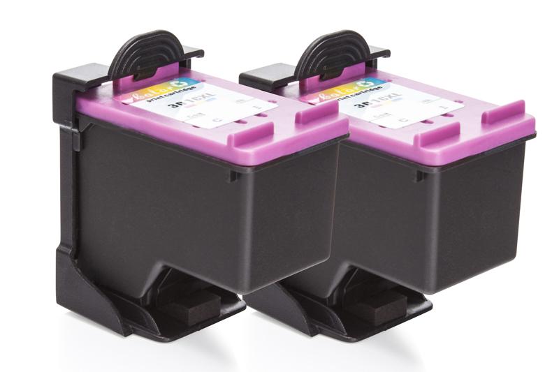 REF301CXL Doppelpack Refill Tinte Color für HP / CH564EE / 2x18 ml