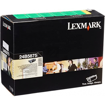 Lexmark 24B5875 Toner Black / 24B5875