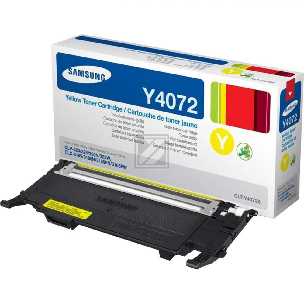 CLP325Y/CLTY4072S/ELS Original Toner Yellow / CLTY4072S/SU472A / 1.000 Seiten