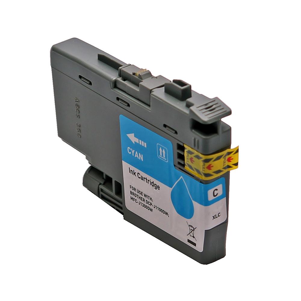 BULK LC3235XLC Alternativ Tinte Cyan für Brother / LC3235XLC / 52ml