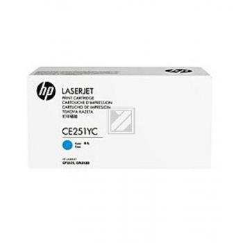 CE251YC Original Contract Toner Cyan für HP / CE251YC // CLJCM3530 / 7.900 Seiten