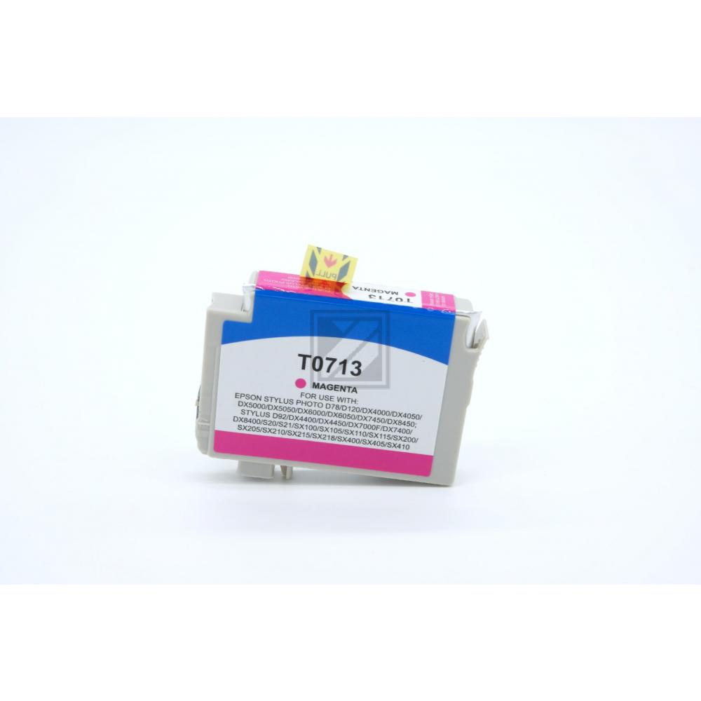 Alternativ Tinte Magenta für Epson / C13T07134010 / 13ml