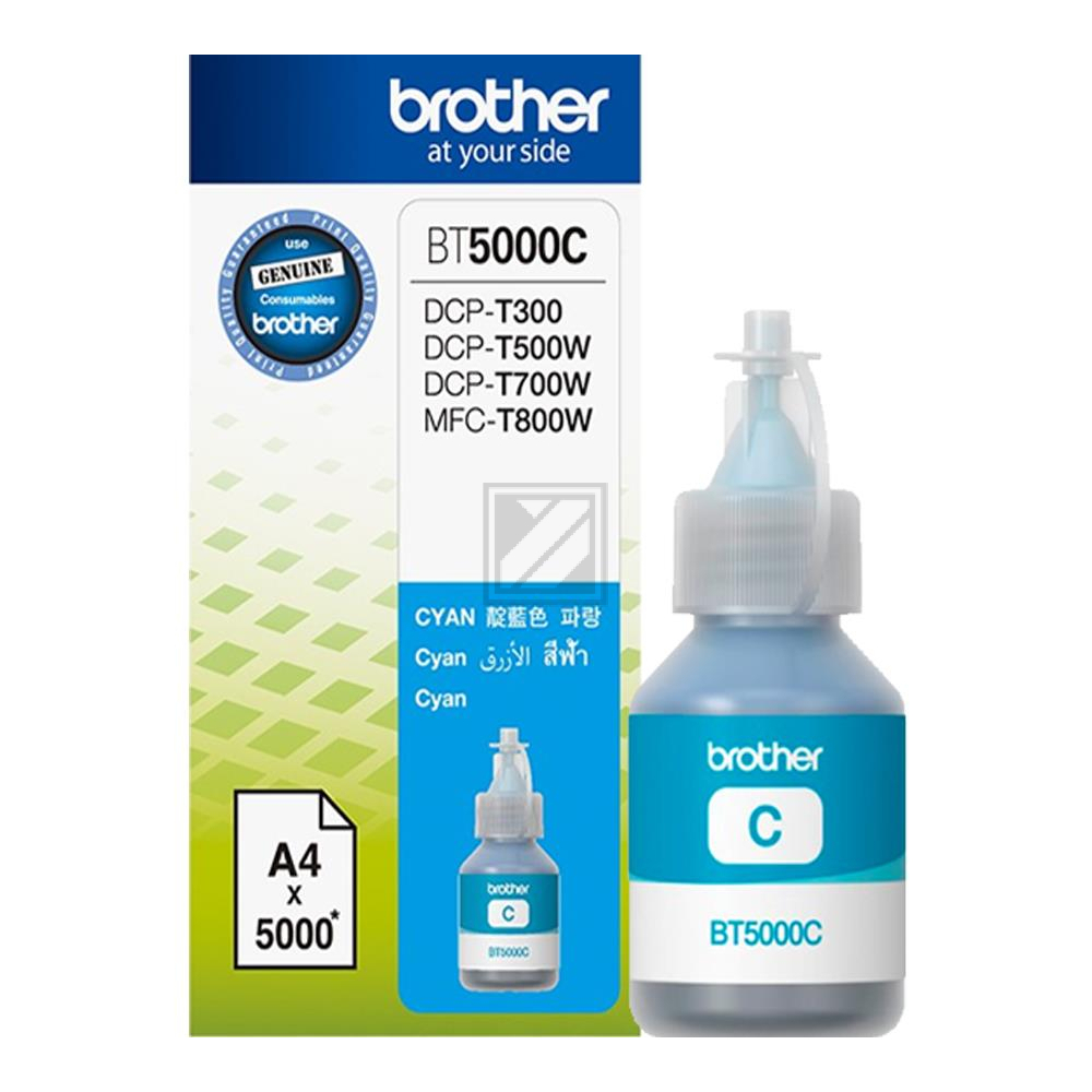 BROTHER BT5000C Ink Brother BT5000C cyan  5000pgs  / BT5000C