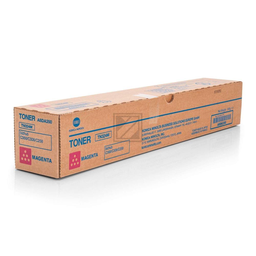 TN324 M (A8DA350) / original / Toner magenta / A8DA350 // 28.000 Seiten