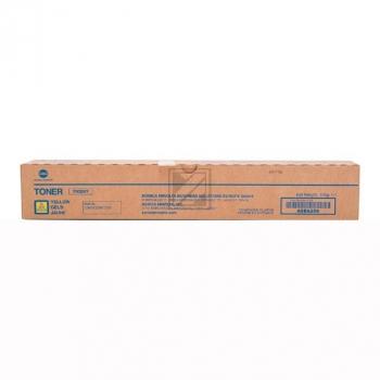 TN324 Y (A8DA250) / original / Toner yellow / A8DA250 // 28.000 Seiten