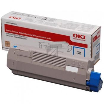 Original Toner 46490403 Cyan für OKI MC563 / 46490403 // 1500 Seiten