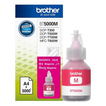 BROTHER BT5000M Ink Brother BT5000M magenta 5000pg / BT5000M