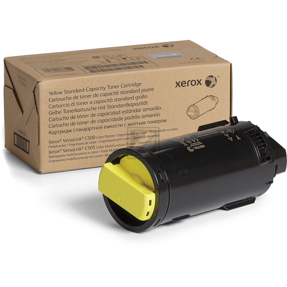 106R03861 // XEROX XFX Toner gelb Standard Kap. / 106R03861 // 2.400 Seiten