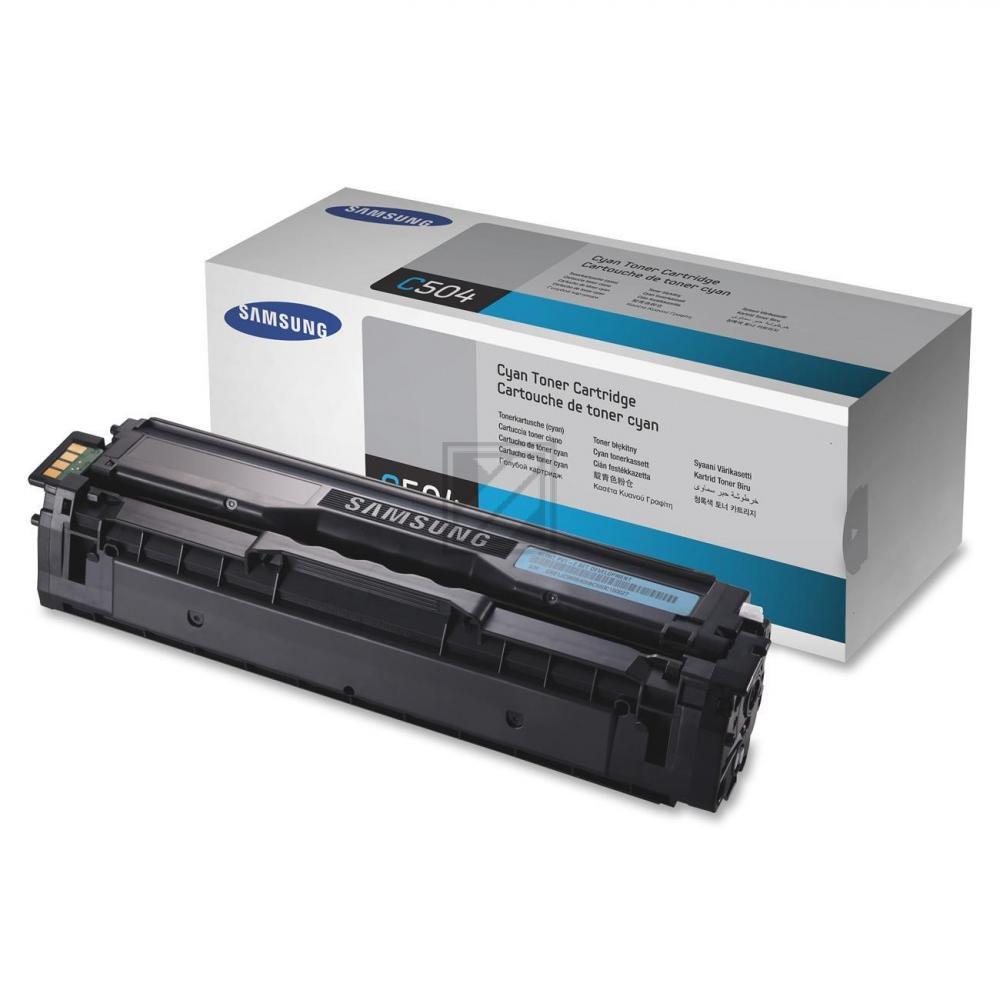 CLP415C /CLTC504S/ELS Original Toner Cyan für Sam / CLTC504S/SU025A/ELS / 1.800 Seiten