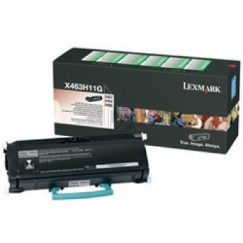 X463H11G // Black // original // Toner f. Lexmark / X463H11G / 9.000 Seiten