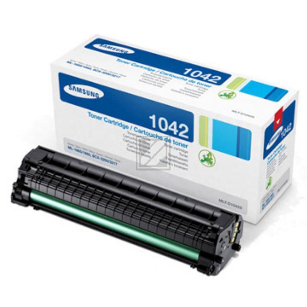 MLTD1042S // Original // Toner f. Samsung ML1660 / MLTD1042SELS/SU737A // MLTD1042S / 1.500 Seiten