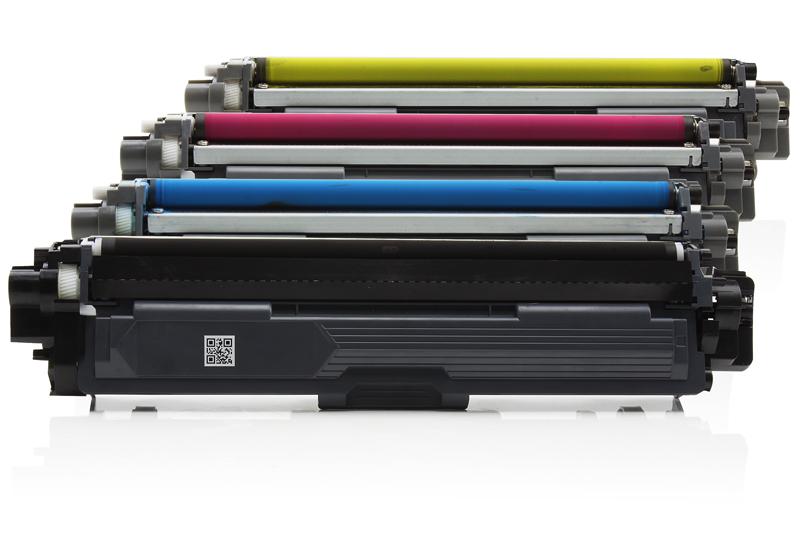 TONTN245/246KIT Universal Alternativ Rainbowkit für Brother / TN245/246 BK x2.500 S /(CMY) je x 2.200 Seiten