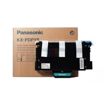 PANASONIC KXP8415 Toner gelb Standardkapazität 10 / KXPDPY8