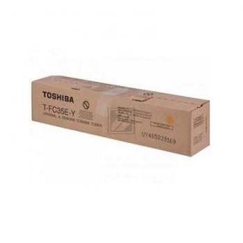 TFC35Y // yellow // original // Toner f. Toshiba E / 6AJ00000053 // 4602504 / 5.000 Seiten