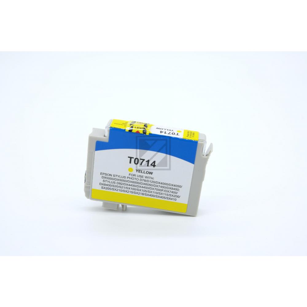 Alternativ Tinte Yellow für Epson / C13T07144010 / 13ml